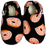 SKIPS Comfortable Baby Booties Shoes for Baby Girl & Boy - Donut Print