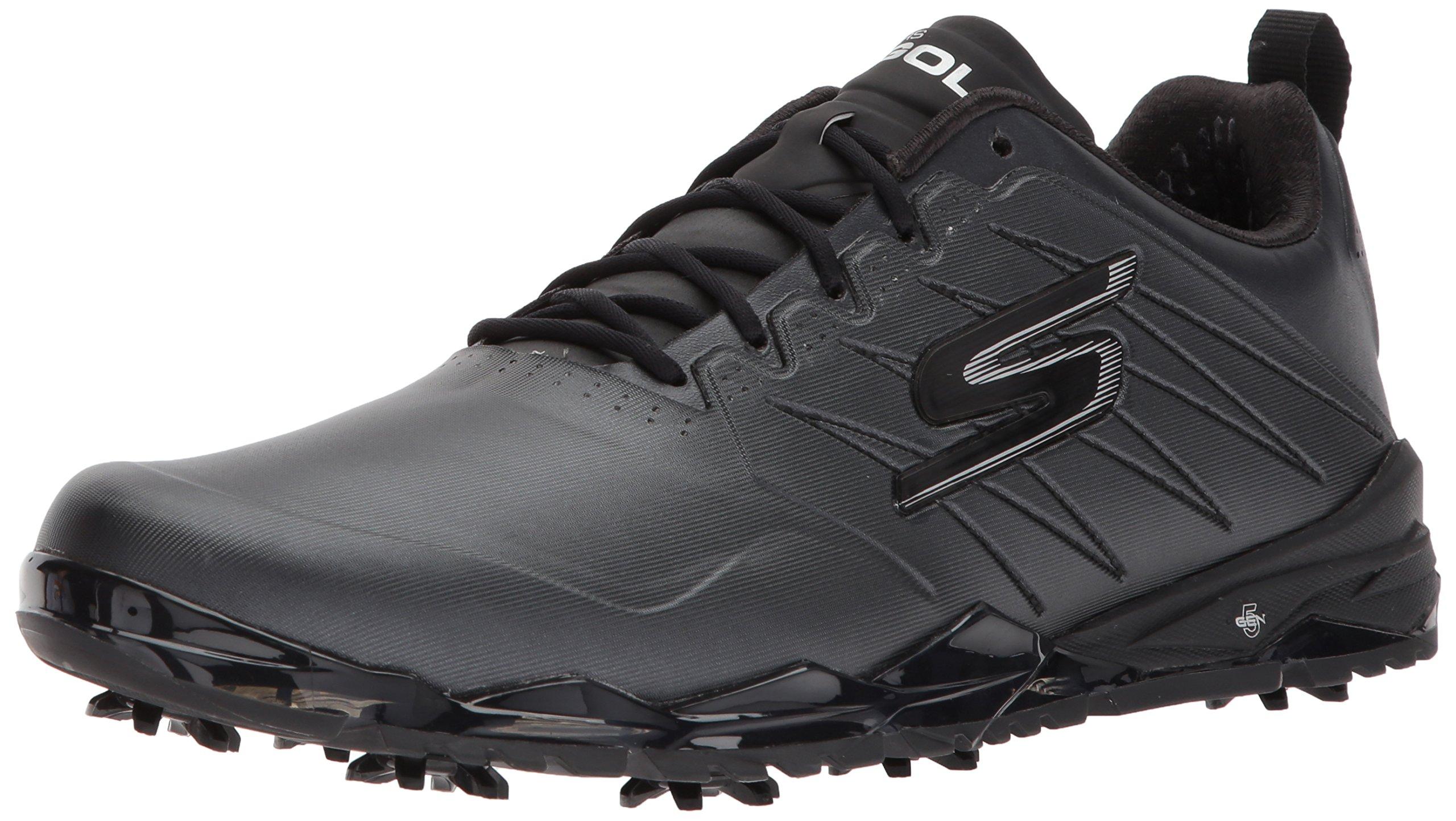 Skechers Performance Men's Go Golf Focus 2 Golf Shoe,Black,12 M US