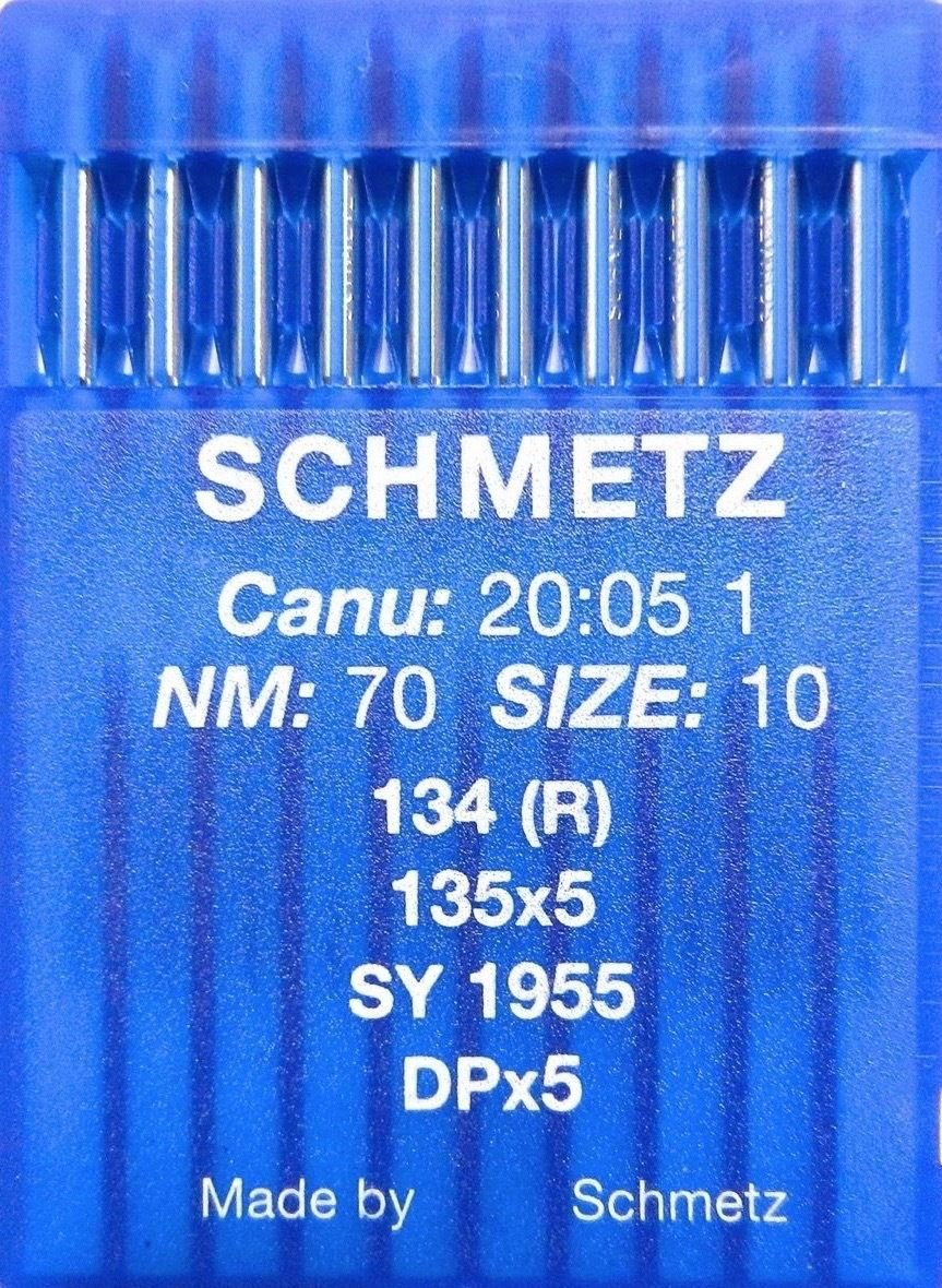 10 parks of Schmetz Rotary Piston Sewing Machine Needle System 134(R) Industrial; Thickness 70