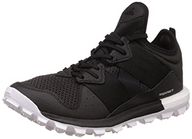 675f9705acce2 adidas Performance Mens Response Trail Boost Trainers - 7 Black