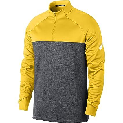 516b4be87493 Amazon.com  Nike Men s Therma Half Zip Golf Shirt  Sports   Outdoors