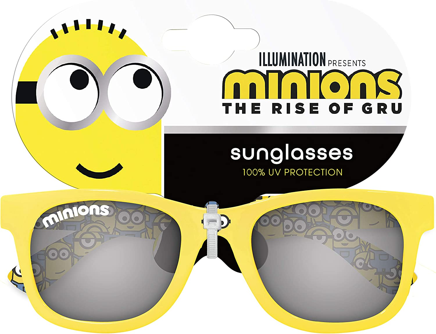 Minions Childrens Character Sunglasses 100/% UV protection for Holiday