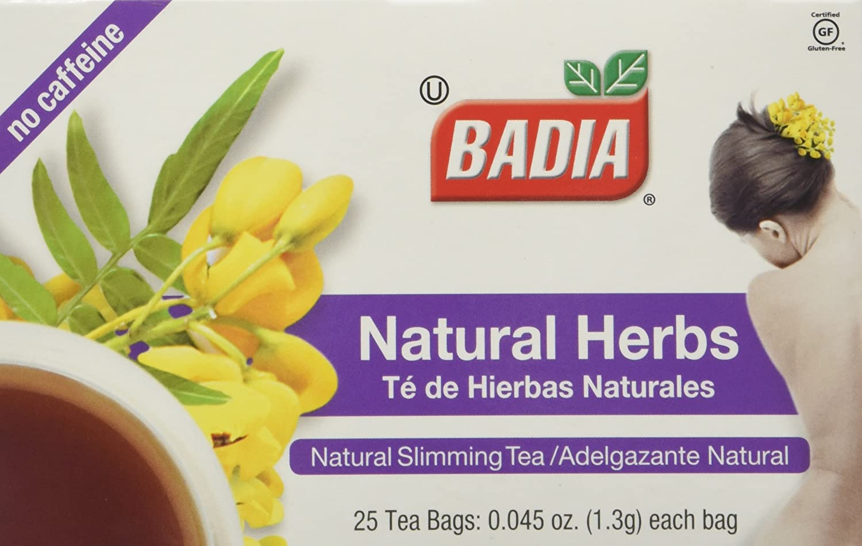 Cheapest amazon herbs - Amazon Com Badia Natural Herb Tea Total 100 Individual Tea Bags Grocery Tea Sampler Grocery Gourmet Food
