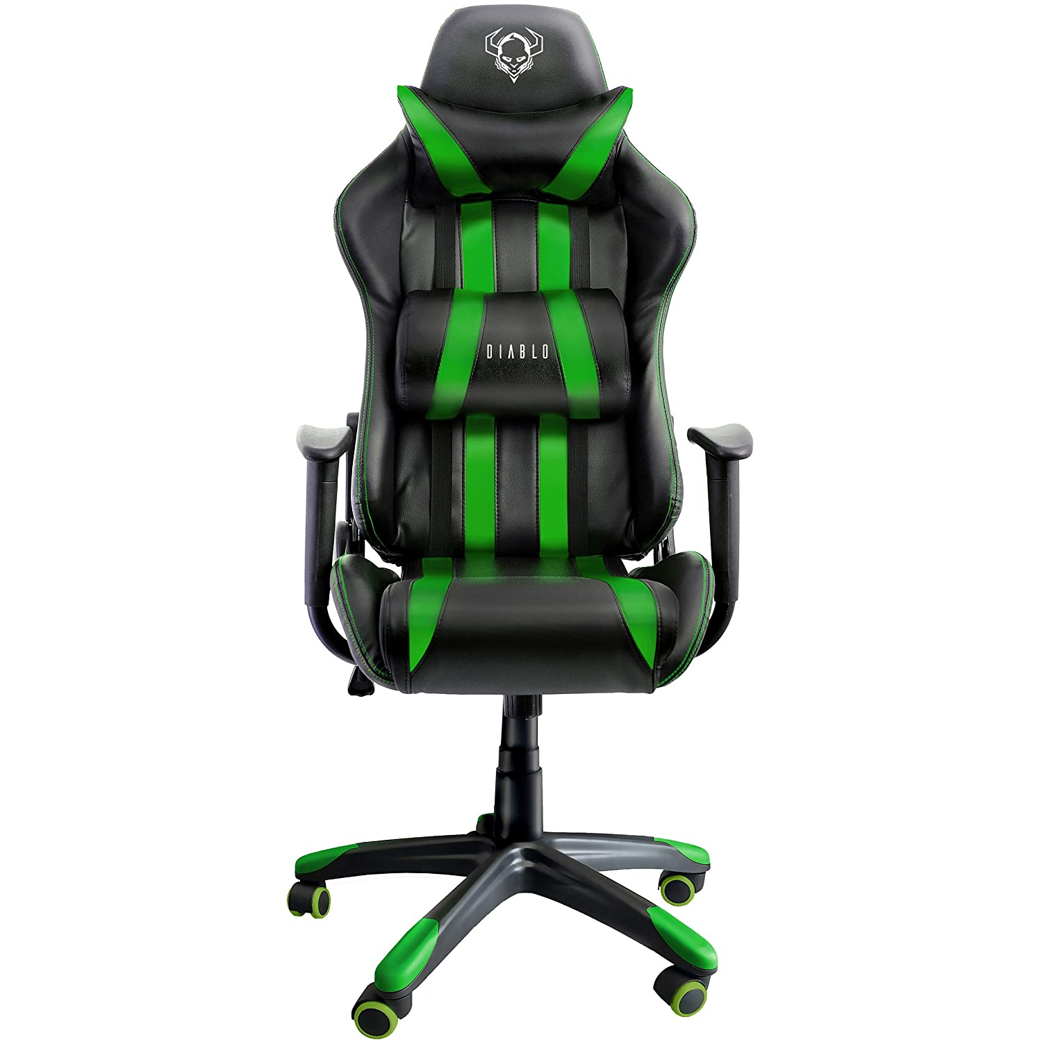 Diablo X e Sedia da Gaming Sedia Scrivania Sedi di gioco Racing Gaming Chair nero verde Amazon Casa e cucina
