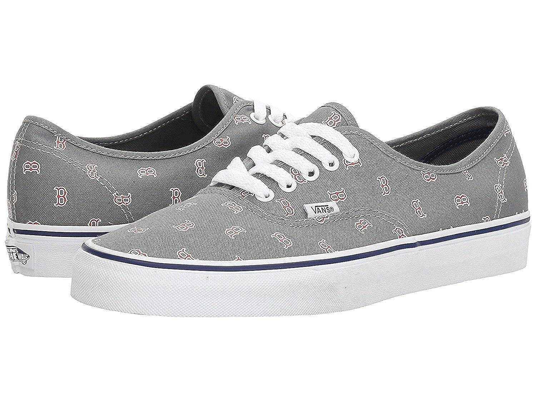 24a914393d Amazon.com  Vans Men s X MLB Authentic (MLB) Boston Red Sox Gray Skateboarding  Shoes (13.5 M US Little Kid)  Shoes