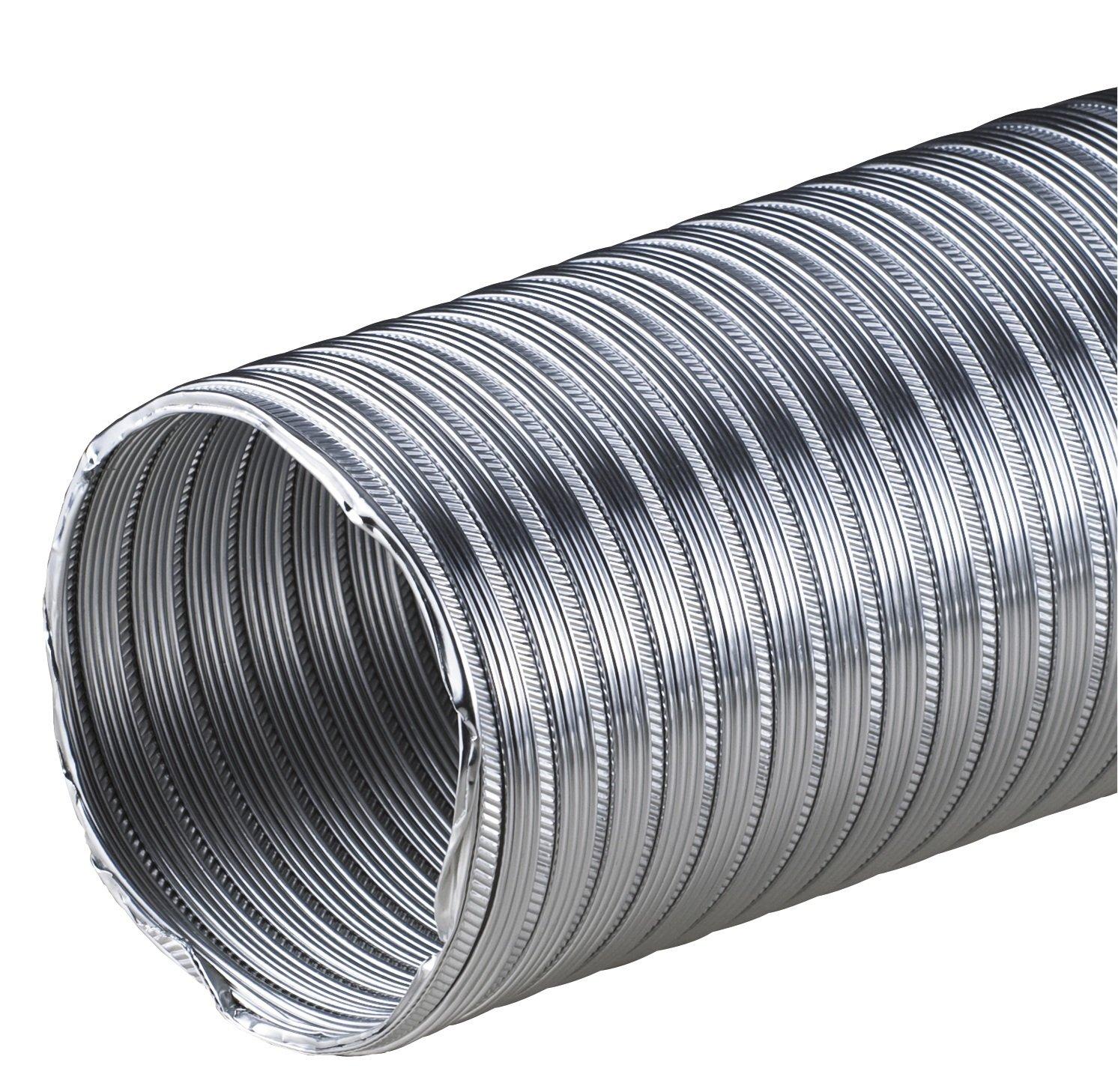 Alu-Flex-Rohr 3m Flexrohr Ø 75 mm 75mm Alurohr Flexschlauch Schlauch Aluminium Aluflexrohr flexibles Aluminiumrohr Aluflex Hitzebeständig AF MKK