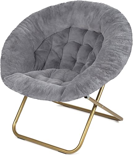 Milliard Cozy Chair/Faux Fur Saucer Chair