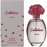 Parfums Gres Cabotine Eau de Toilette Spray for Women, Rose, 100ml