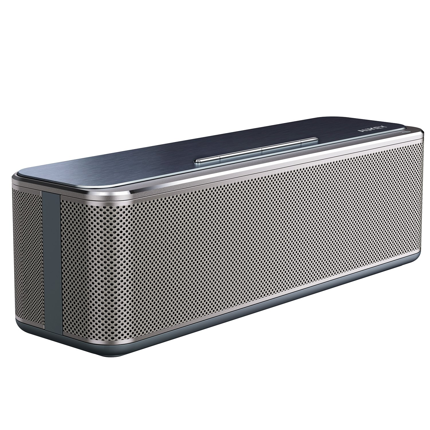 Aukey Bluetooth Stereo Speaker 16w, Metal Wireless Speaker.