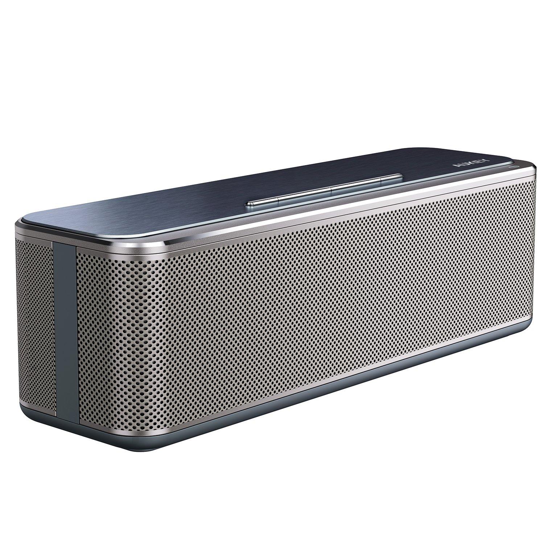 Aukey Bluetooth Stereo Speaker 16w, Metal Wireless Speaker.