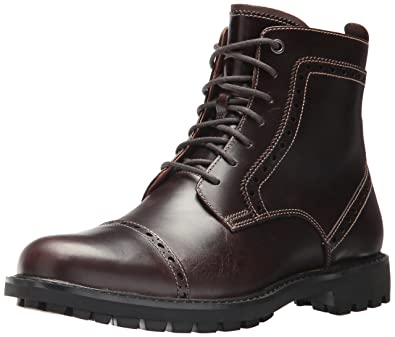 Mens Montacute Cap Classic Boots, Brown Clarks
