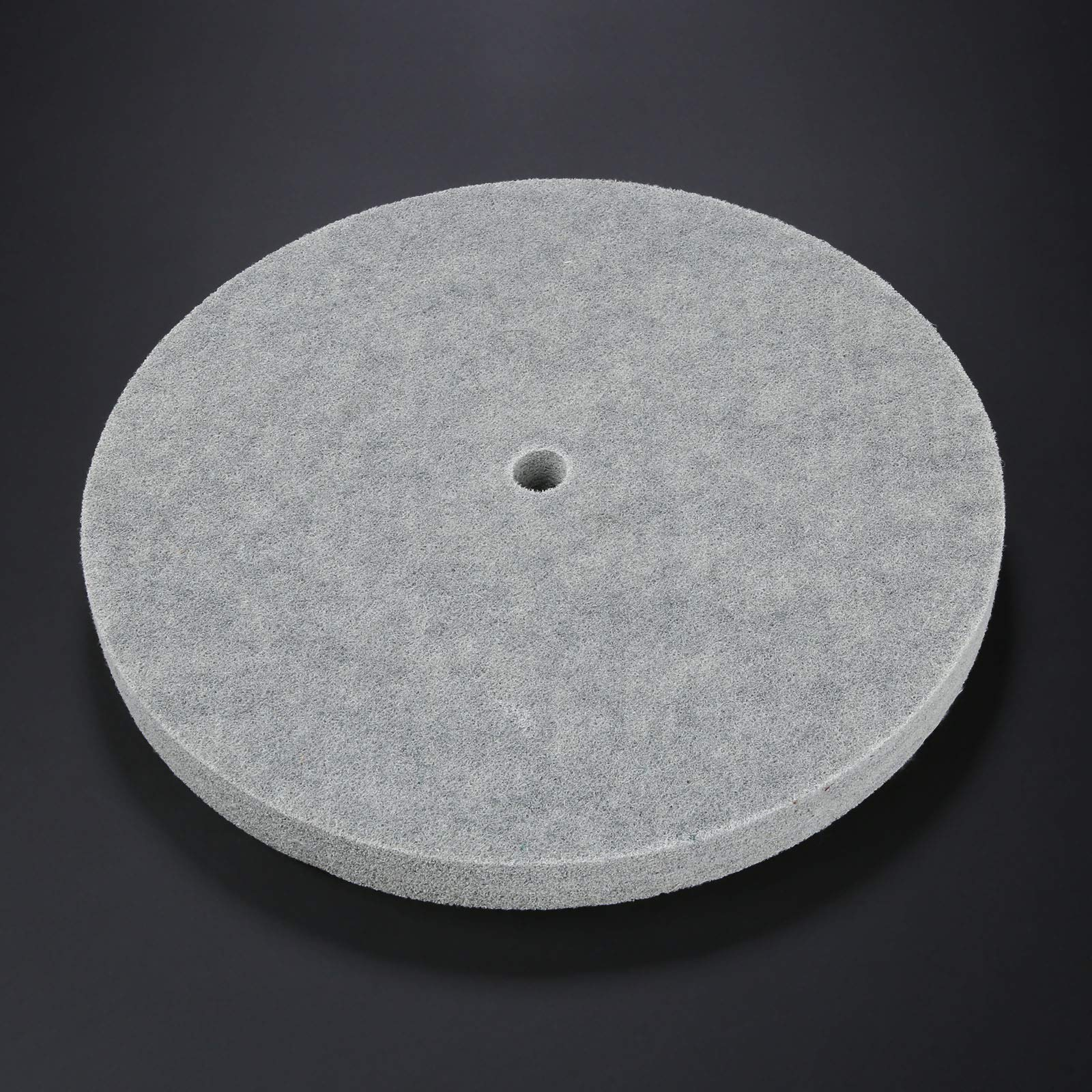 1 PC Thickness Nylon Fiber Polishing Wheel Non-Woven Unitized Wheel 5P 180#, 300MM by Yetaha (Image #4)