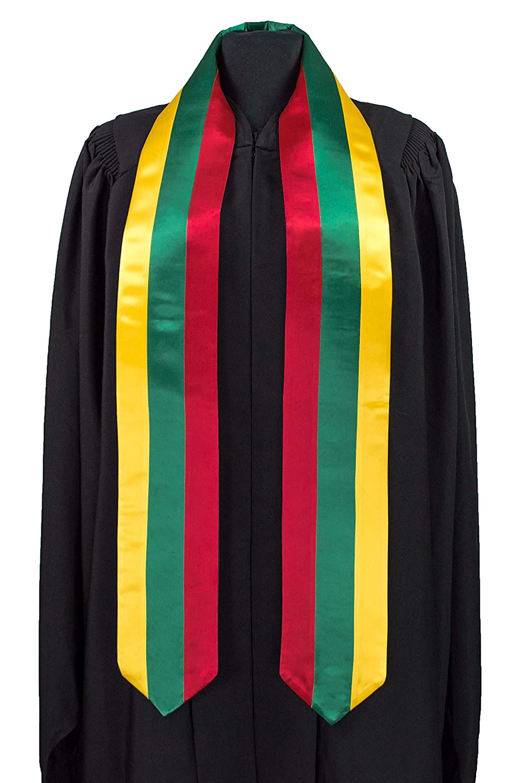 Lithuania Flag Graduation Sash//Stole International Study Abroad Adult Unisex