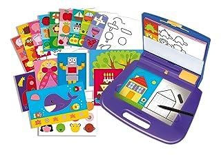 Diset- 63757, Kit per Imparare a disegnare, richiudibile a Valigetta