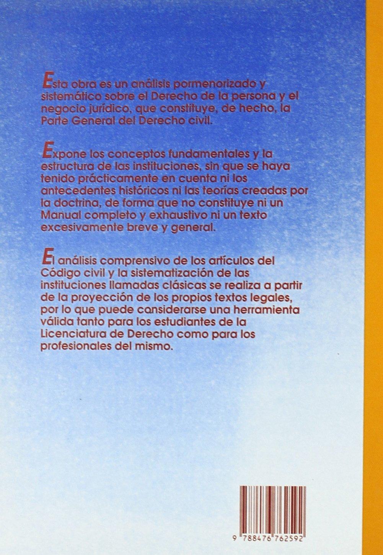 Derecho De La Persona Y Negocio Jurídico Derecho Civil