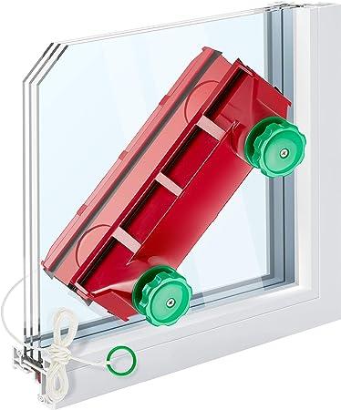 Tyroler Bright Tools The Glider D-4 Nettoyant magnétique pour vitres extrêmement épaisses à double vitrage et fenêtres à simple vitrage Compatible avec les fenêtres de 2 à 40 mm d'épaisseur