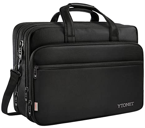 Amazon.com: 17 inch Laptop Bag, Travel Briefcase