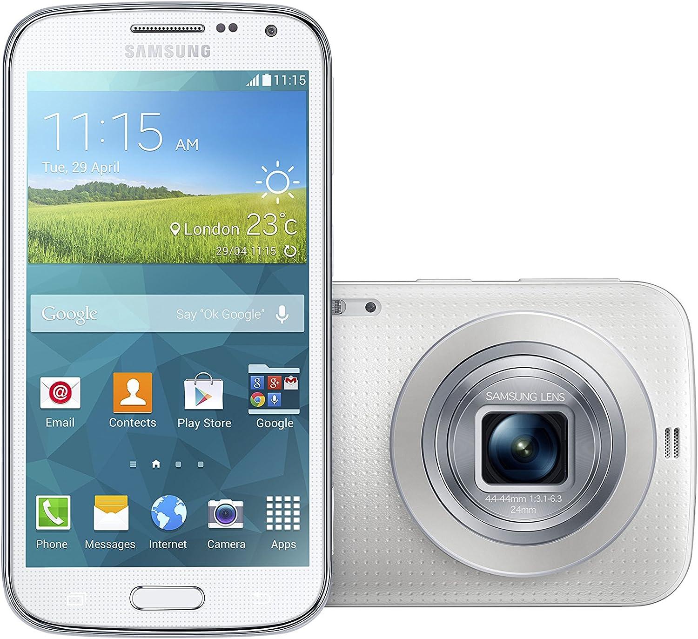 Samsung Galaxy K Zoom (S5 Zoom) SM-C115 16GB Smartphone Libre Android Smartphone, Blanco [Asia Version]: Amazon.es: Electrónica