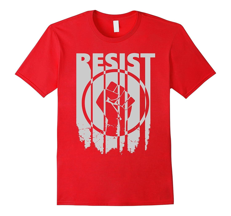 Raised Fist Resist T-shirt-Art