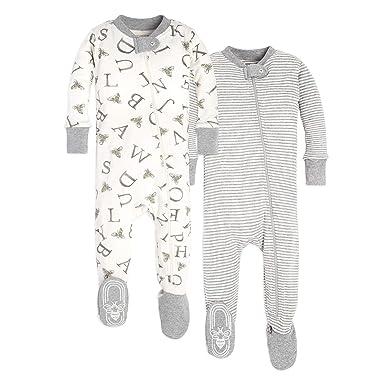 4157a44b5506 Amazon.com  Burt s Bees Baby Unisex Pajamas