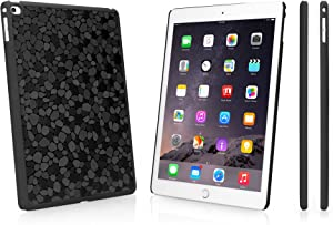 iPad Air 2 Case, BoxWave [LuxePave Case] Hard Shell Cover with Shiny Mosaic Design for Apple iPad Air 2 - Black Diamond