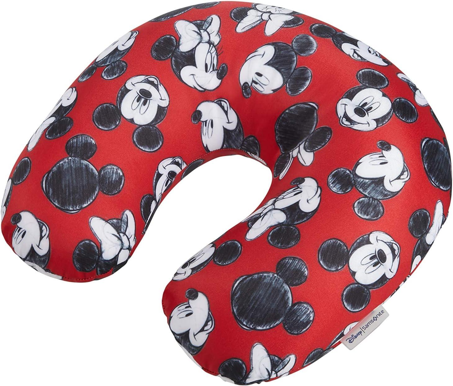 Samsonite Global Ta Disney Microbead Almohada de Viaje, 32 cm, Rojo (Mickey/Minnie Red)