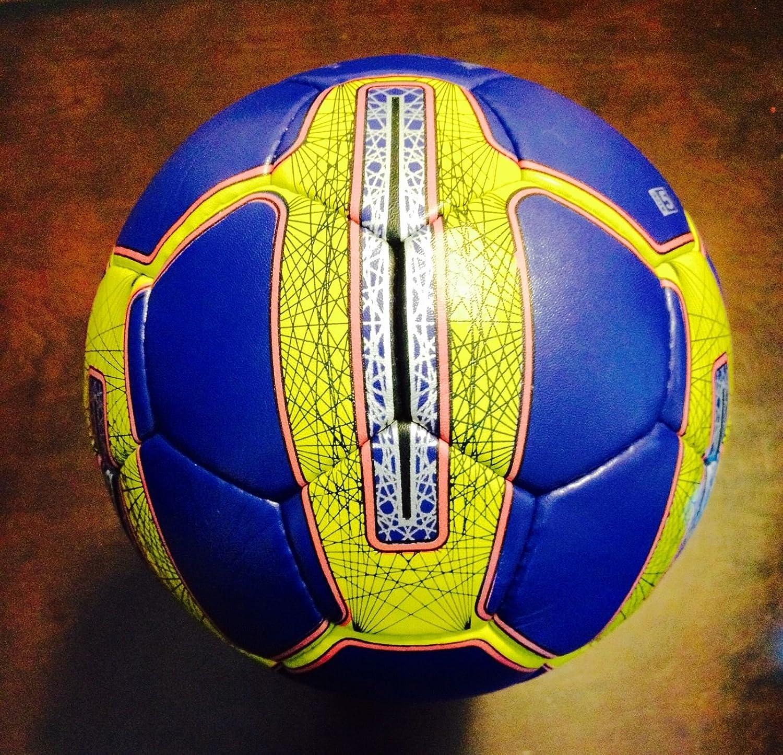 公式Original Professional Match Soccer Ball Size 5 Hand Made B01CN36IU2パープル 5