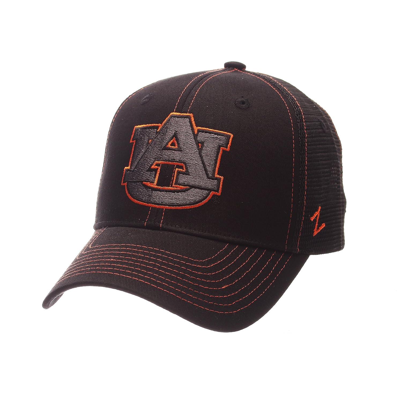 Zephyr NCAA Mens Staple Trucker Blackout Cap