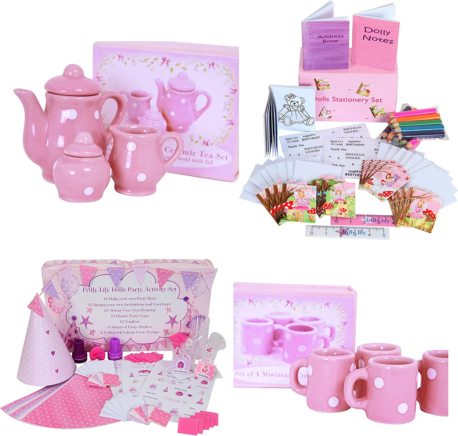 Frilly Lily Dolls Accessory Bundle Suitable For Dolls Such As American Girl Baby Born Hannah By Gotz Designafriend Doll Kidz And Cats Precious Day Doll Happy Kidz Baby Annabell And Many More Dolls Of This Height Amazon Co Uk Toys,Simple Blouse Back Neck Designs Images Free Download