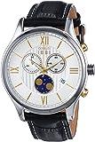 Cerruti - CRA119STU07BK - Montre Homme - Quartz - Chronographe - Bracelet cuir noir