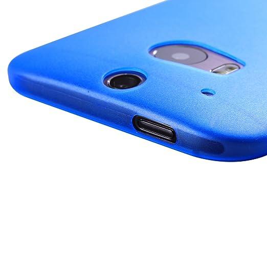 23 opinioni per Liamoo- Cover ultra sottile per HTC One M8 (blu trasparente)