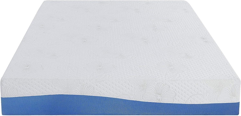 Olee Sleep VC10FM01F Aquarius 10-Inch Memory Foam Mattress