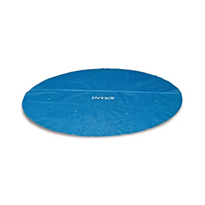 Intex Solar Cover for 15ft Diameter Easy Set and Frame Pools : Swimming Pool Solar Blankets : Garden & Outdoor