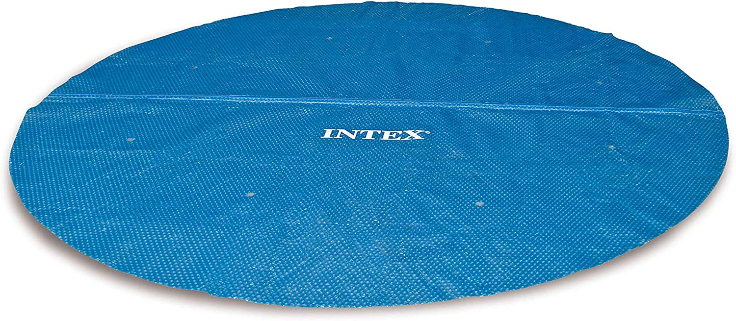 Best Solar Pool Cover-INTEX 15 ft Solar Cover Diameter Frame
