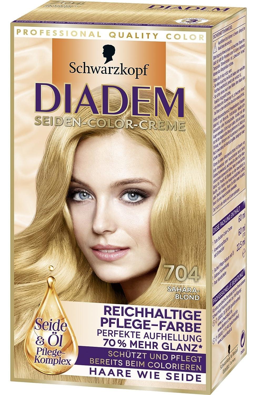 Haare blond colorieren