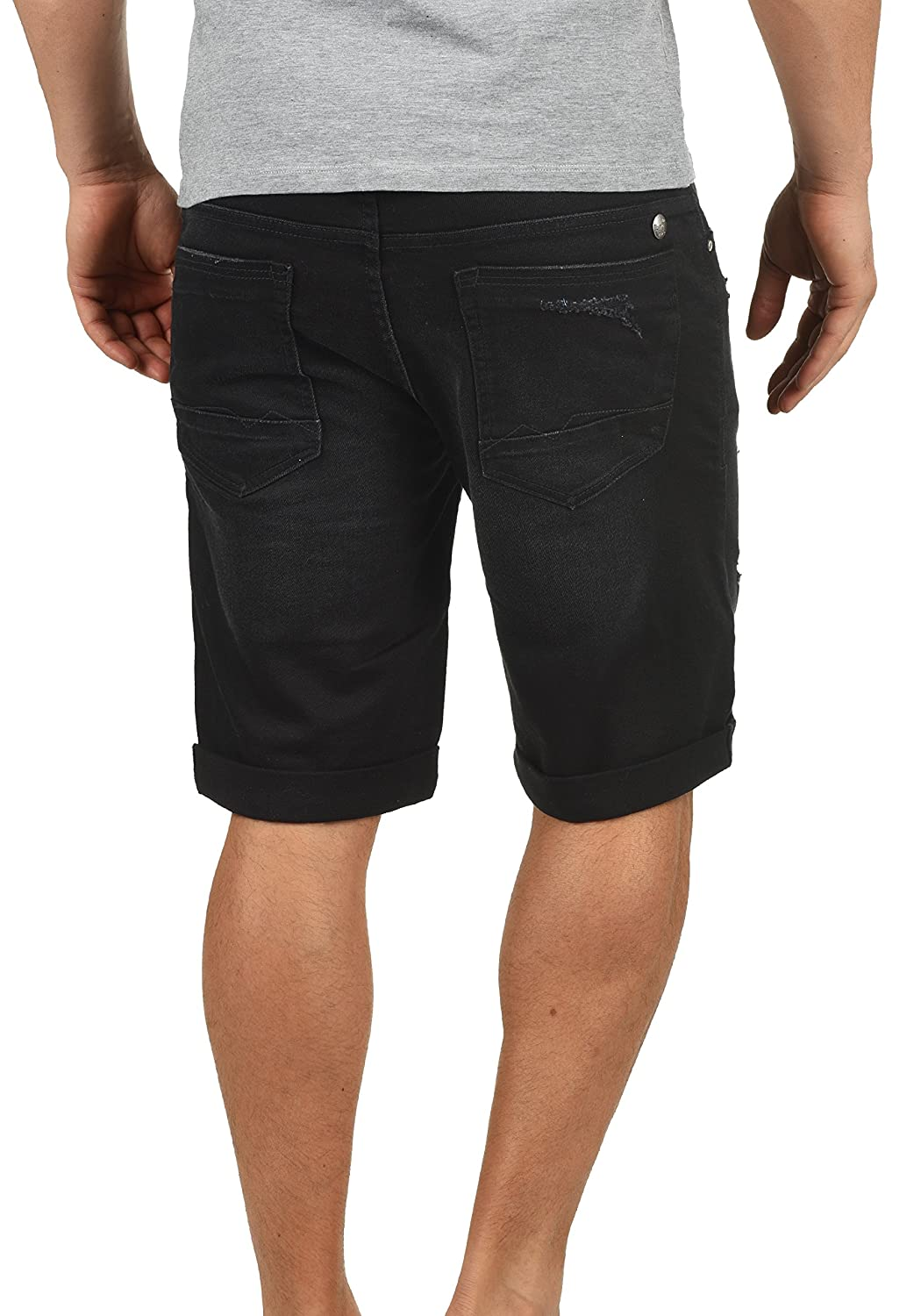 Blend Deniz Herren Jeans Shorts Kurze Denim Hose Mit Destroyed-Optik Aus  Stretch-Material Regular Fit  Amazon.de  Bekleidung 05ddc3af96