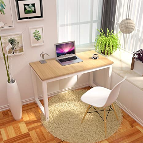 Amazon.com: CharaHome - Mesa de escritorio para ordenador ...