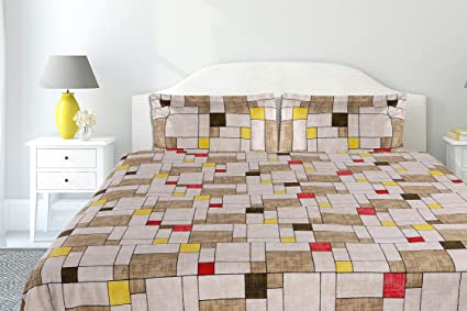 Haus & kinder checks interplay modern print 100% cotton 186 thread