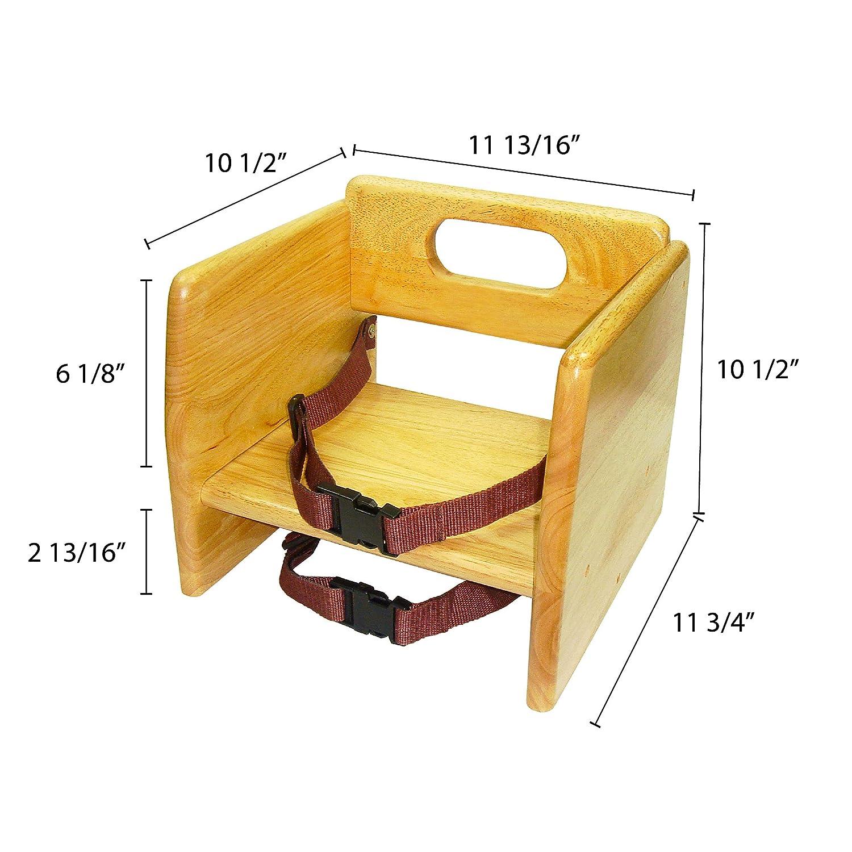 Booster Seat Chair Baby Kids Toddler Squish Non Skid Slip Feeding Gift NEW