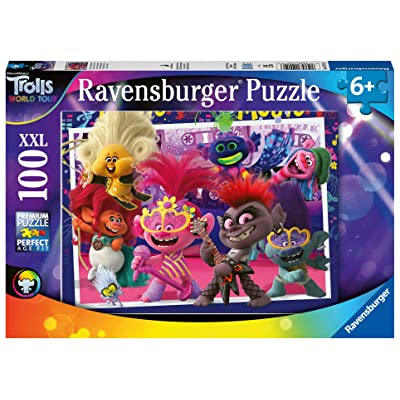 Ravensburger 12912 Trolls 2 World Tour, XXL 100pc Jigsaw Puzzle: Toys & Games