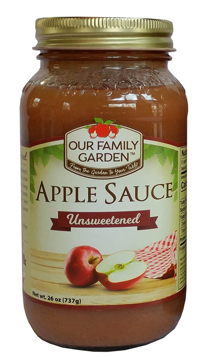 Our Family Garden Applesauce (Unsweetened)