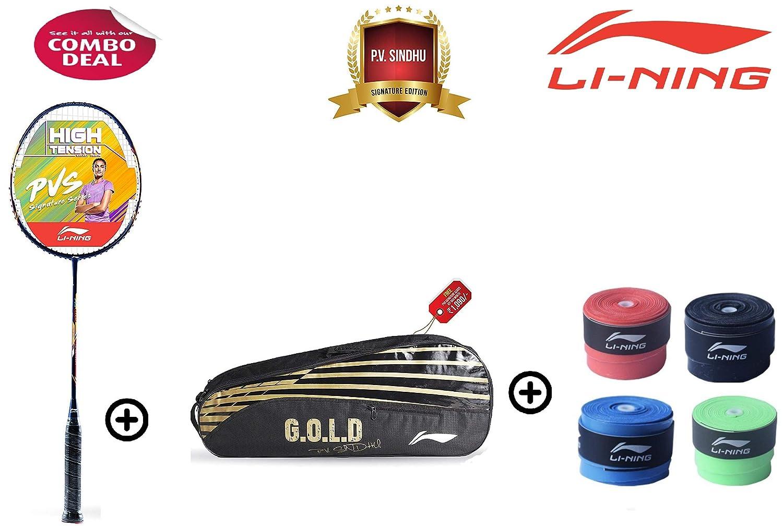 Li Ning PVS 903 Carbon-Graphite Badminton Racquet with Free Kit-Bag