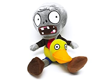 Pvz Peluche Zombie Flotador de Pato 30cm