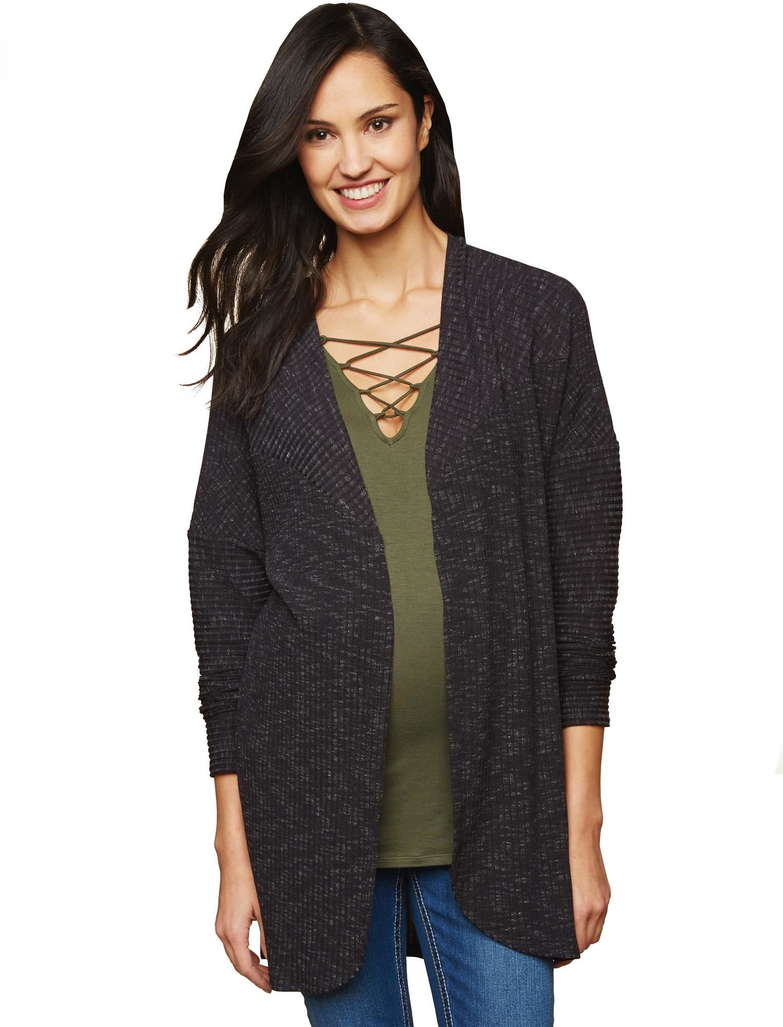 Motherhood Relaxed Fit Maternity Cardigan