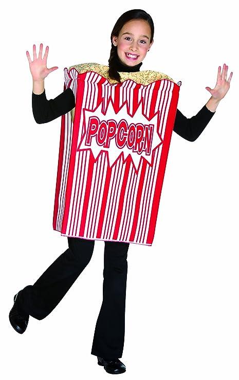f034bd72b88 Rasta Imposta Movie Night Popcorn Children's Costume, 7-10, Red