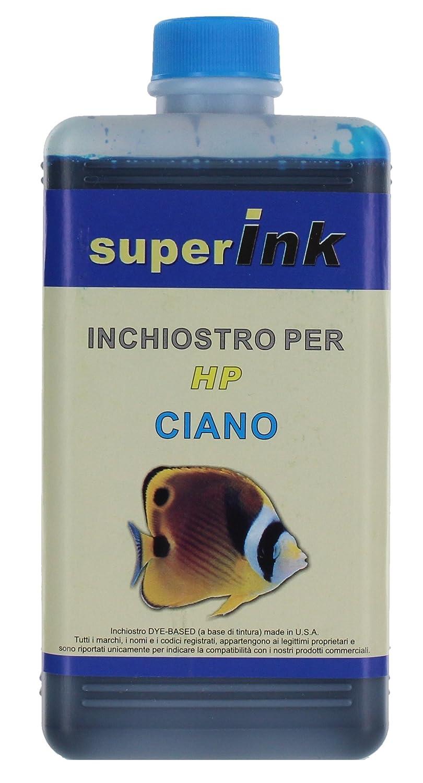 250ml (NERO) - Inchiostro superInk specifico per la ricarica di stampanti inkjet HP Euronet srl (Rome Italy)