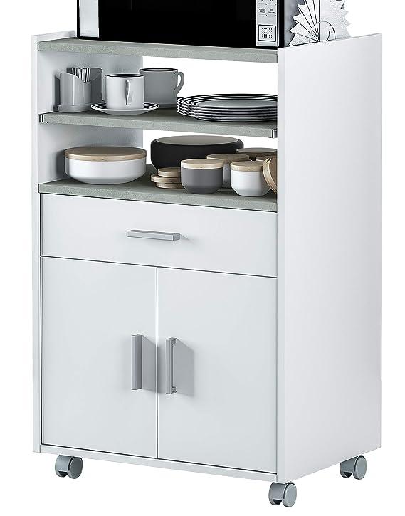Miroytengo Mueble microondas Plutón bufe Cocina aparador Estilo Moderno 59x40x92 cm: Amazon.es: Hogar