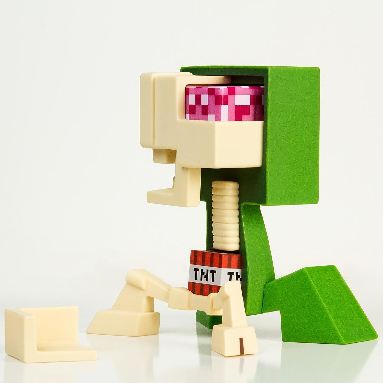 Amazon Jinx Minecraft Creeper Anatomy Vinyl Figure Kit Toys