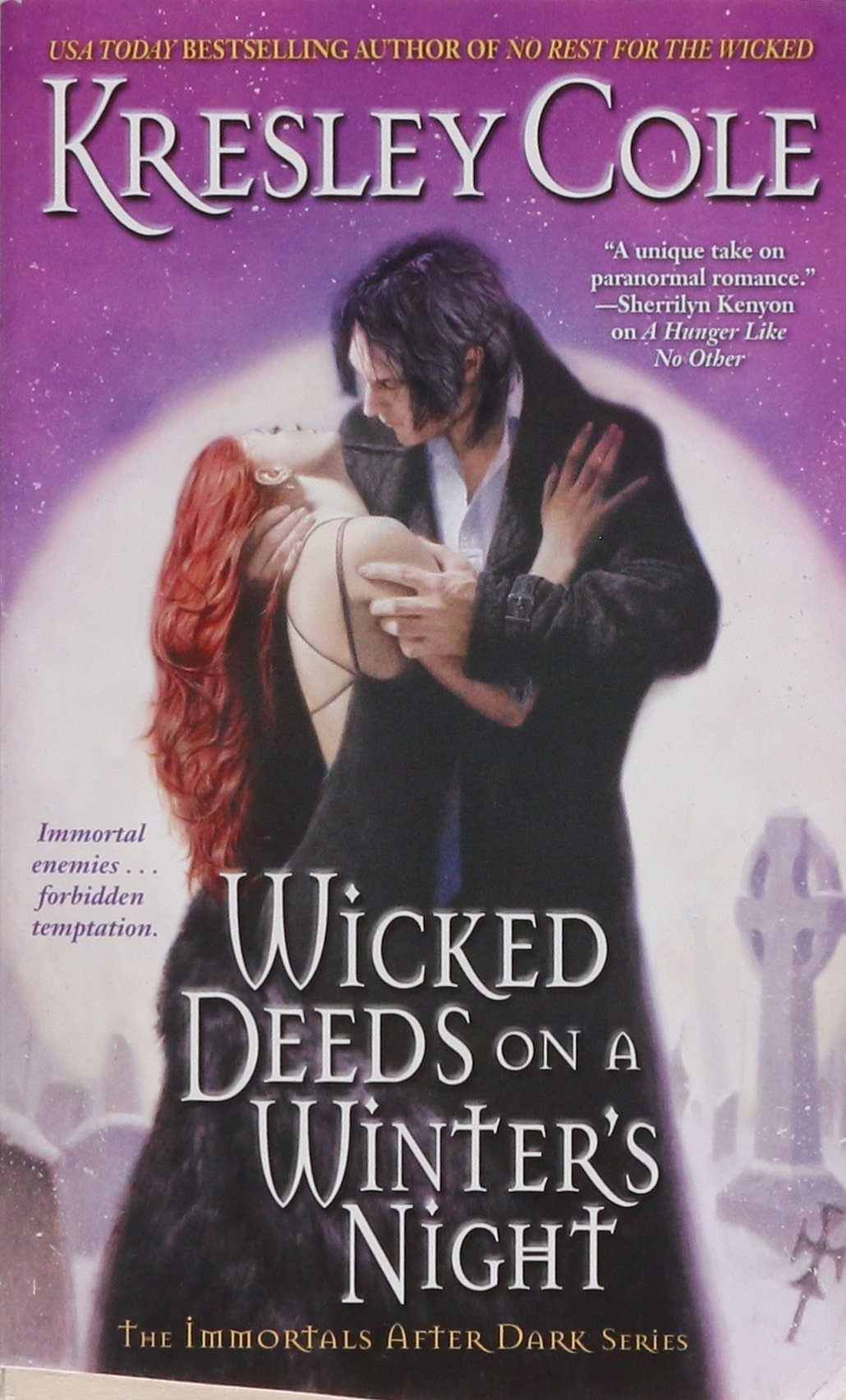 Wicked Deeds on a Winter's Night (Immortals After Dark, Book 3) pdf