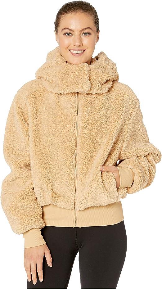 Amazon.com: ALO Foxy Sherpa Camel MD - Chaqueta: Clothing